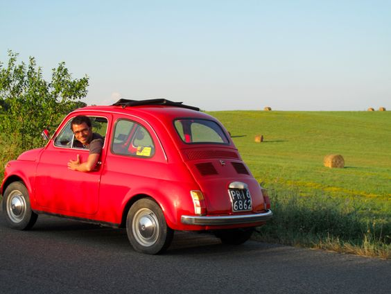 Short day Traveling Tuscany with Fiat 500