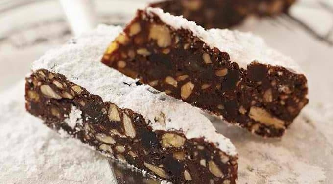 Panforte is a stunningly rich fruit cake