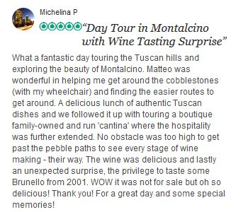 Reviews of Tour of Tuscany Untouched